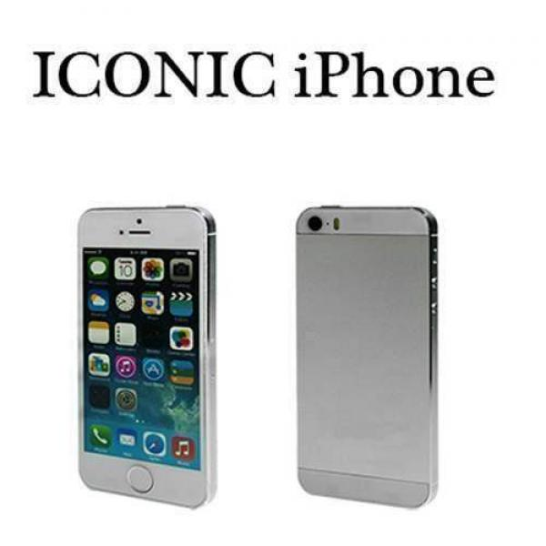 Ricambio per Iconic - iPhone 5 Silver Metal by Shi...