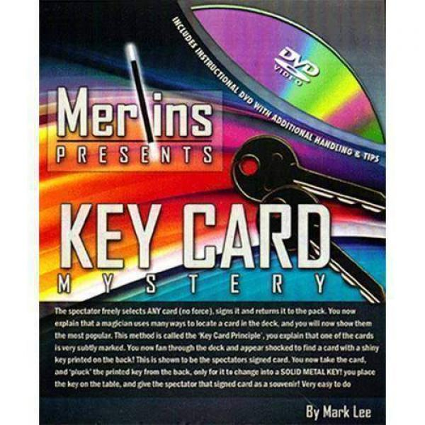 Key Card Mystery by Merlins - DVD e Gimmick