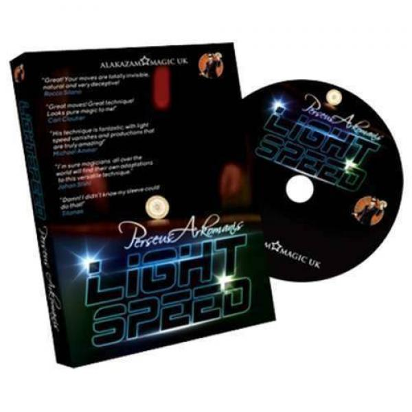 Lightspeed by Perseus Arkomanis and Alakzam Magic (DVD)