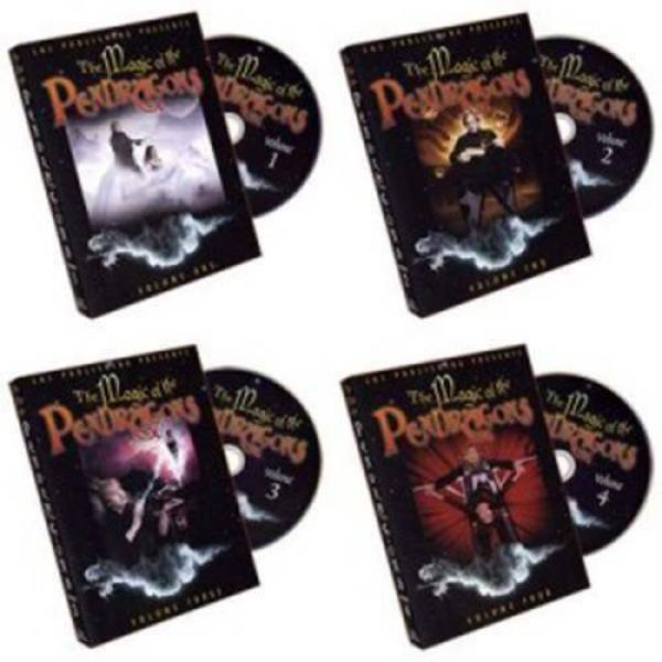 Magic of the Pendragons (Set of 4 DVDs) - Charlotte & Jonathan
