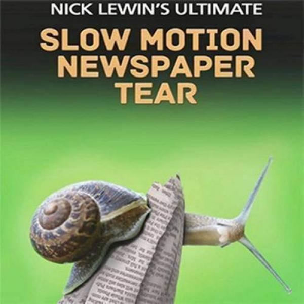 Nick Lewin Ultimate Slow Motion Newspaper Tear - D...