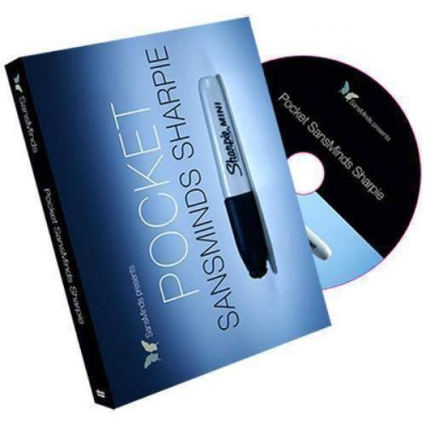 Pocket SansMinds Sharpie (DVD and Gimmick) by Sans...