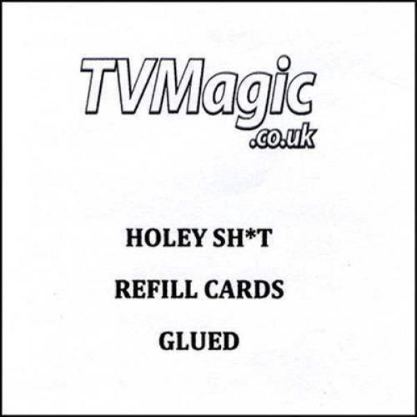 Refill Cards Holey Sh*t (GLUED) by Anthony Owen and Pete Firman