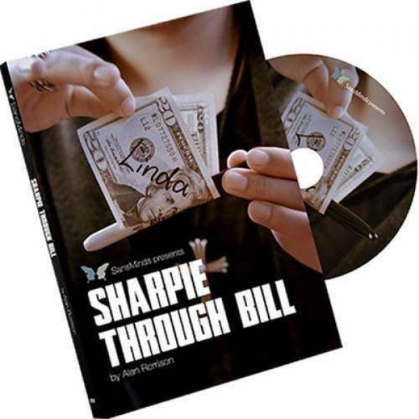 Sharpie Through Bill by Alan Rorrison and SansMind...