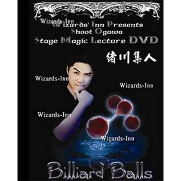 Shoot Ogawa - Stage Magic Lecture - Billiard Balls