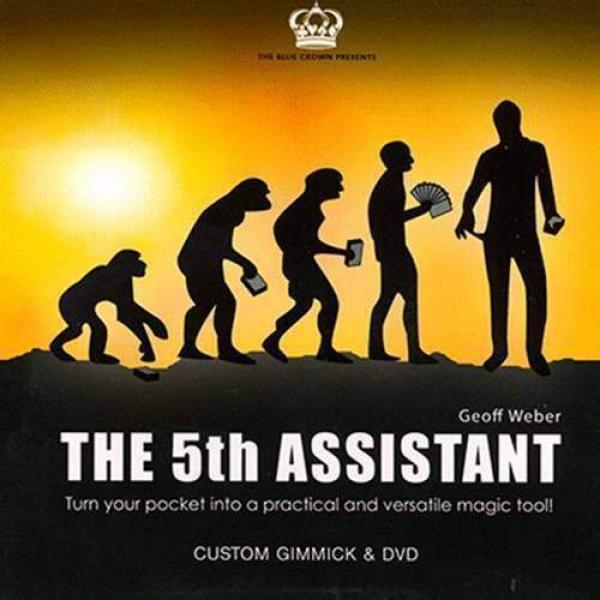The 5th Assistant 5th Assistant (Gimmick and DVD) by Geoff Weber and The Blue Crown - DVD- Gimmick and DVD