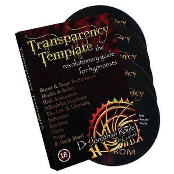 The Transparency Template by Jonathan Royale (4 DVD set + DVD Rom)