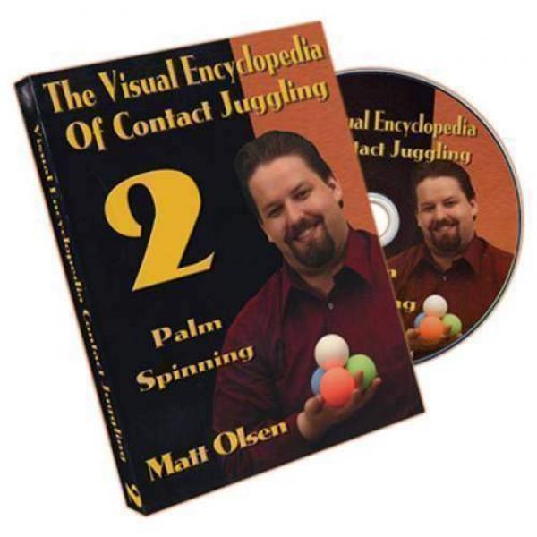 Visual Encyclopedia of Contact Juggling Vol.2 - Matt Olsen - DVD