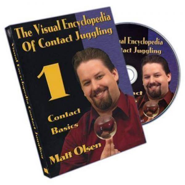 Visual Encyclopedia Of Contact Juggling Vol.1 - Matt Olsen - DVD