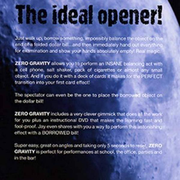 Zero Gravity by Jay Sankey - DVD and Gimmick