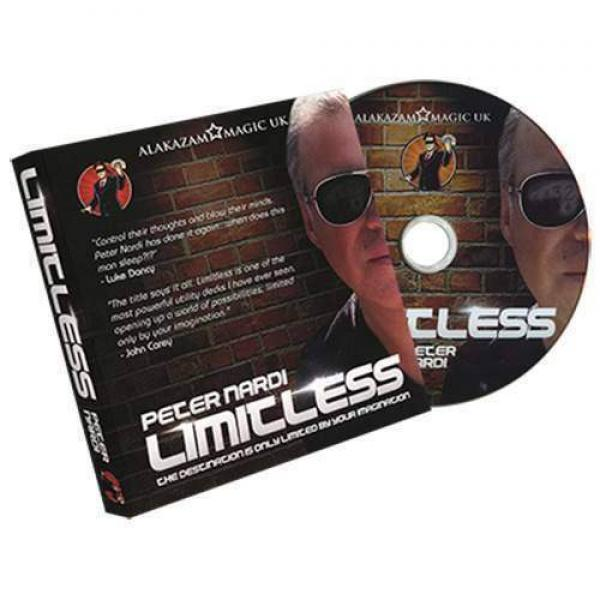 Limitless (Queen of Hearts) DVD and Gimmicks by Peter Nardi - original item