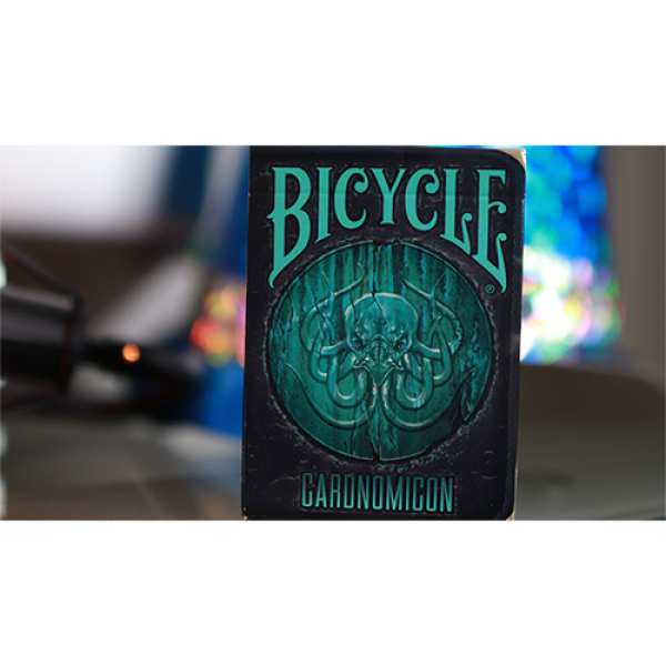 Mazzo di carte Limited Edition Bicycle Cthulhu Cardnomicon Playing Cards