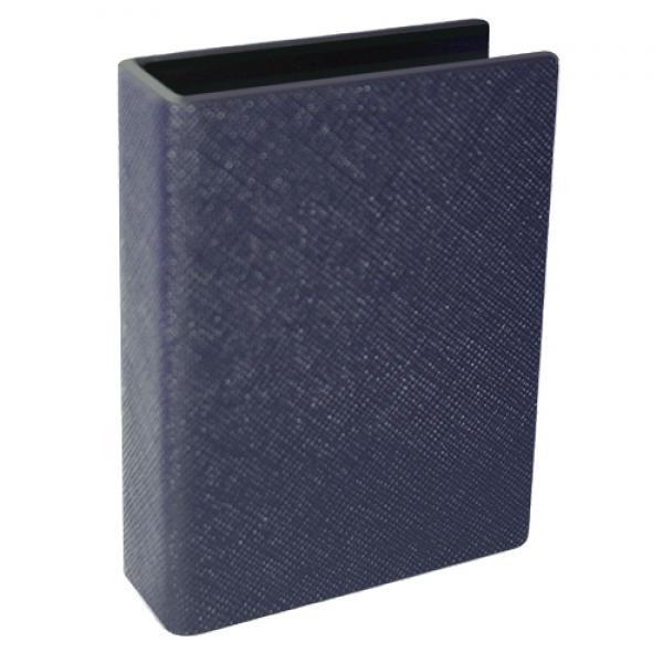 Card Clip leather - Blue