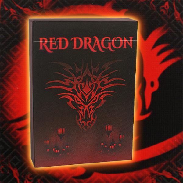 Mazzo di carte Red Dragon Playing Cards
