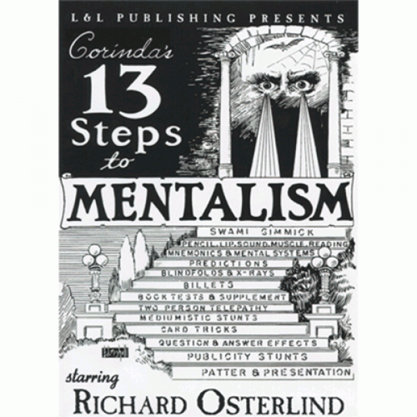 13 Steps To Mentalism (6 Videos) by Richard Osterl...