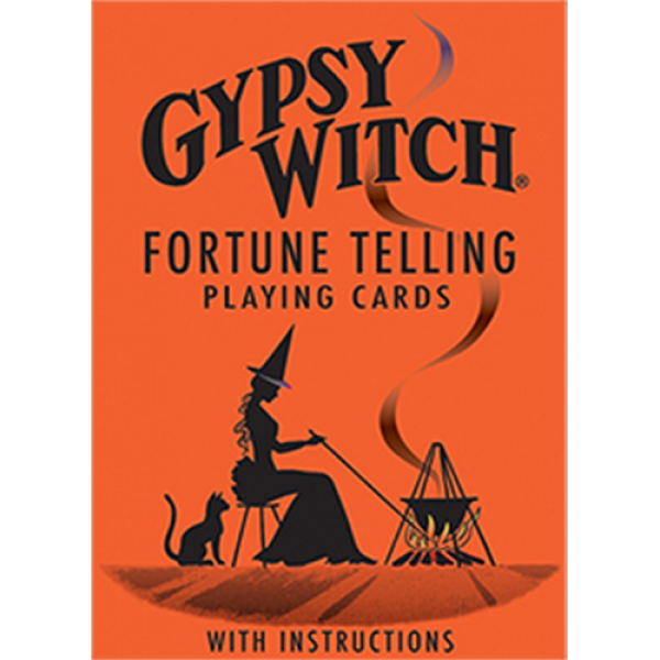Gypsy Witch Fortune Telling Playing Cards - Tarot ...