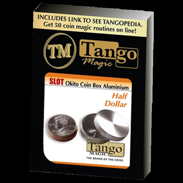 Slot Okito Box Half Dollar Aluminum by Tango