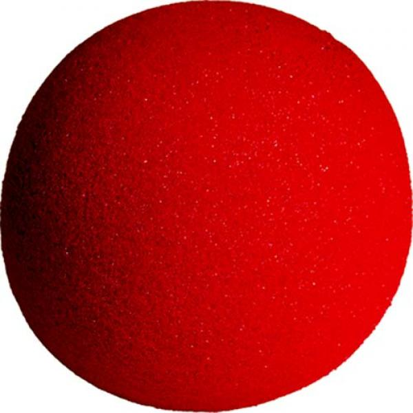 4 inch Super Soft Sponge Ball (Red) from Magic by ...
