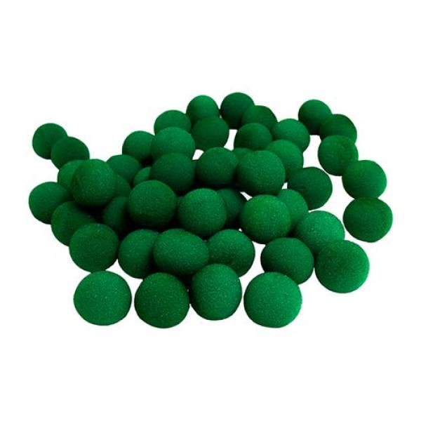 1.5 inch Super Soft Sponge Balls (Green) Bag of 50...
