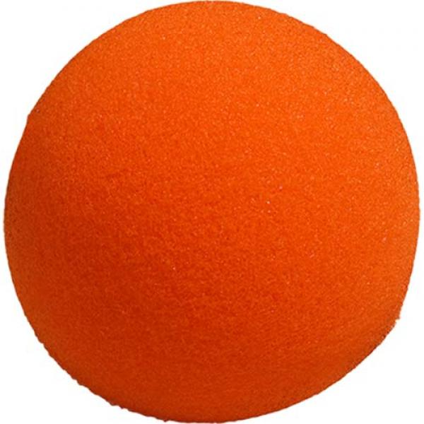 4 inch Super Soft Sponge Ball (Orange) from Magic ...