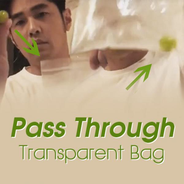 Pass Through Transparent Bag