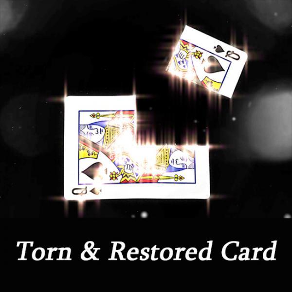 Torn & Restored Card