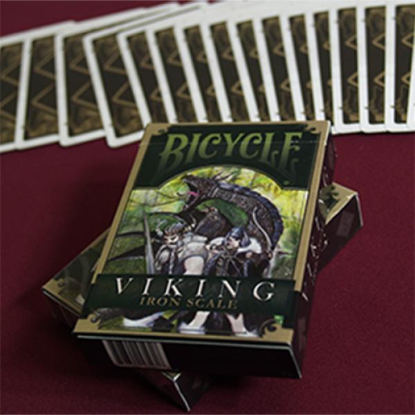 Mazzo di carte Bicycle Viking Iron Scale Deck by Crooked Kings Cards