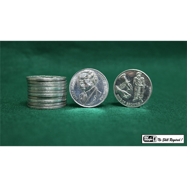 Houdini Palming Coins (12 pieces) by Mr. Magic