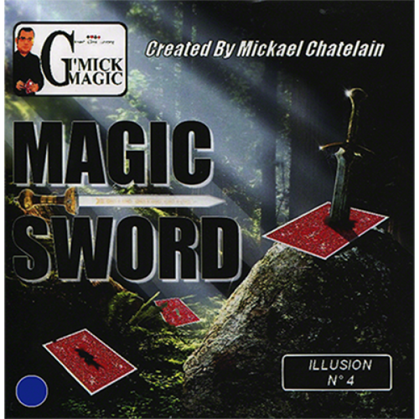 Magic Sword Card (Blue)by Mickael Chatelain