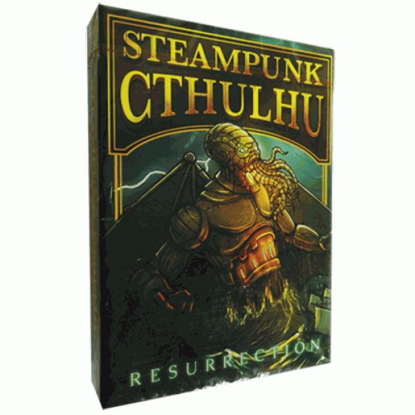 Steampunk Cthulhu Resurrection (Red) Deck by Nat I...