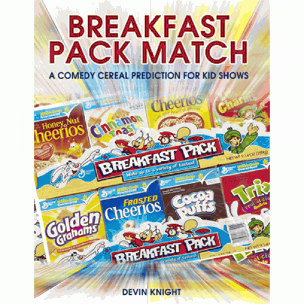 Breakfast Pack Match (Mentalism for Kids) by Devin...