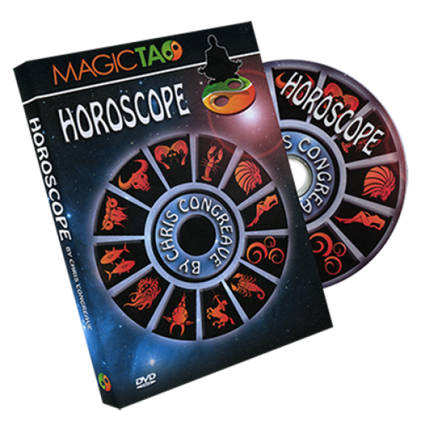 Horoscope (Red) by Chris Congreave - DVD and Gimmick
