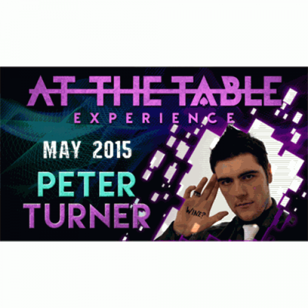 At the Table Live Lecture Peter Turner 5/20/2015 v...