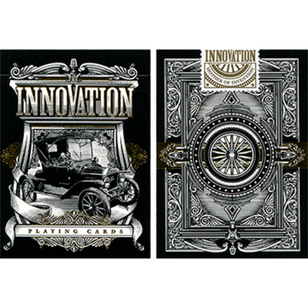 Innovation Playing Cards Black Edition by Jody Ekl...