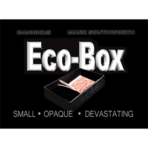 ECO_BOX (Black) by Hand Crafted Miracles & Mar...