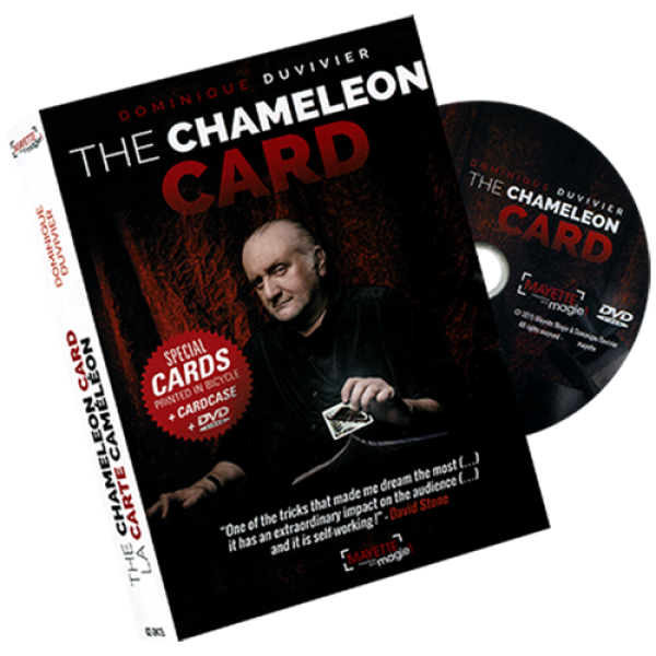 The Chameleon Card (DVD and Gimmicks)  by Dominiqu...
