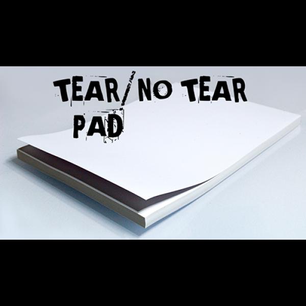 No Tear Pad (XL, 8.5 X 11, Tear/No Tear Alternatin...