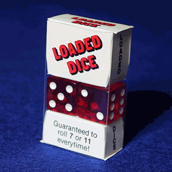 Loaded Dice (Acrylic, Red)