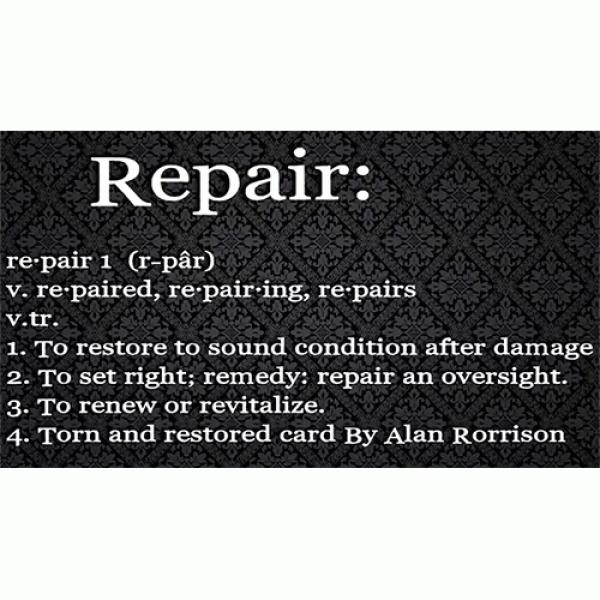 Repair by Alan Rorrison video DOWNLOAD