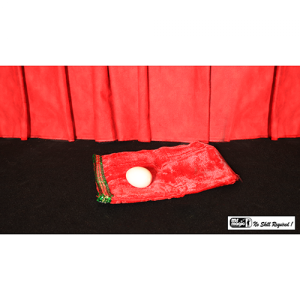 Egg Bag Zipper with Egg by Mr. Magic