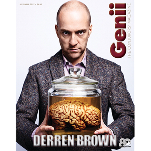 "Genii Magazine ""Derren Brown"" September ..."