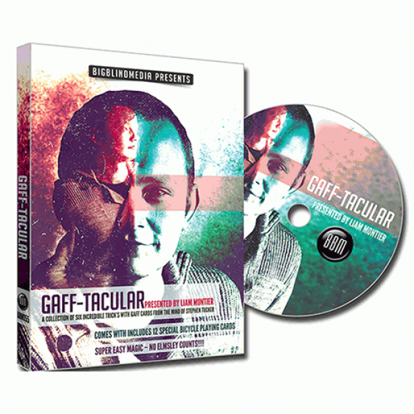Gaff-Tacular (DVD and Gimmicks) by Liam Montier