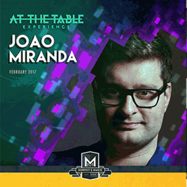 At The Table Live Lecture João Miranda - DVD