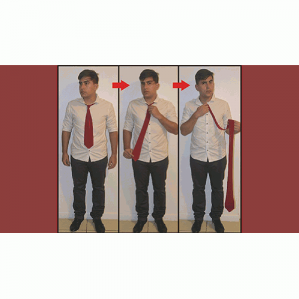Comedy Necktie (Red) by Nahuel Olivera