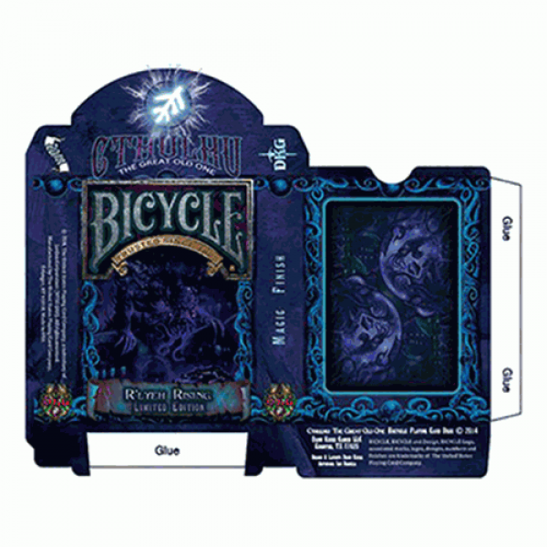 Bicycle Cthulhu R'LYEH RISING Limited Edition Play...