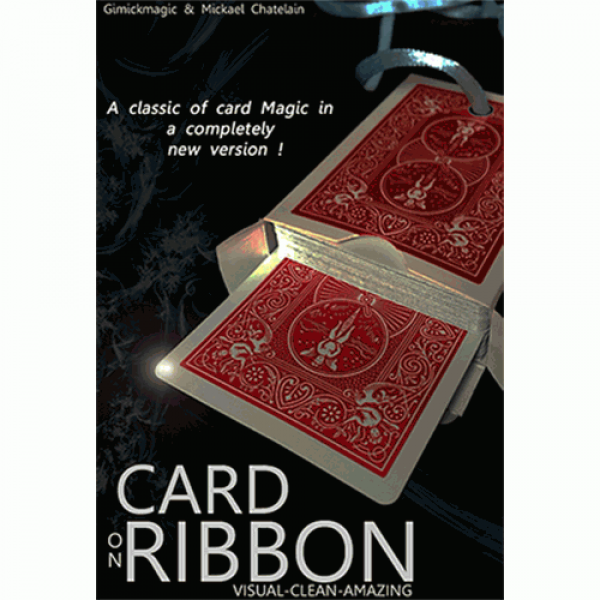 Card on Ribbon by Mickael Chatelain