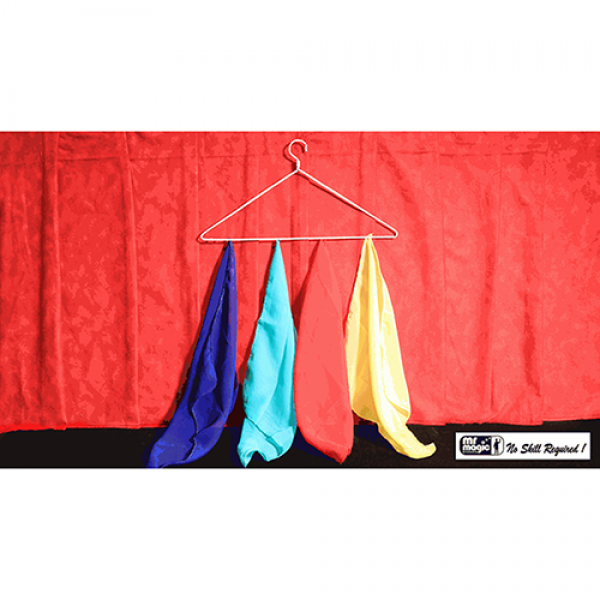 Silk Off Hanger by Mr. Magic