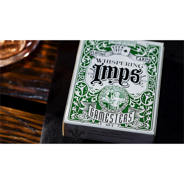 Exclusive Edition Gamesters Playing Cards (Green) ...
