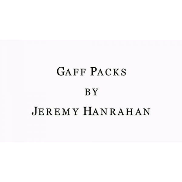 Bicycle Gaff Pack Red (6 Cards) by The Hanrahan Ga...