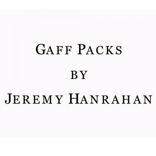 Bicycle Gaff Pack BLUE (5 Cards) by The Hanrahan G...